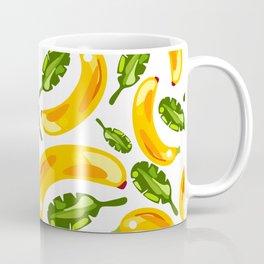 banana and leaf pattern Coffee Mug