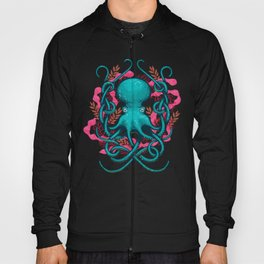 Octupus and Coral Hoody