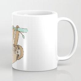 Sloth and baby II Coffee Mug