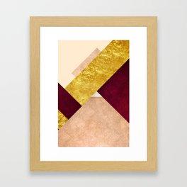 Modern Mountain No3-P3 Framed Art Print