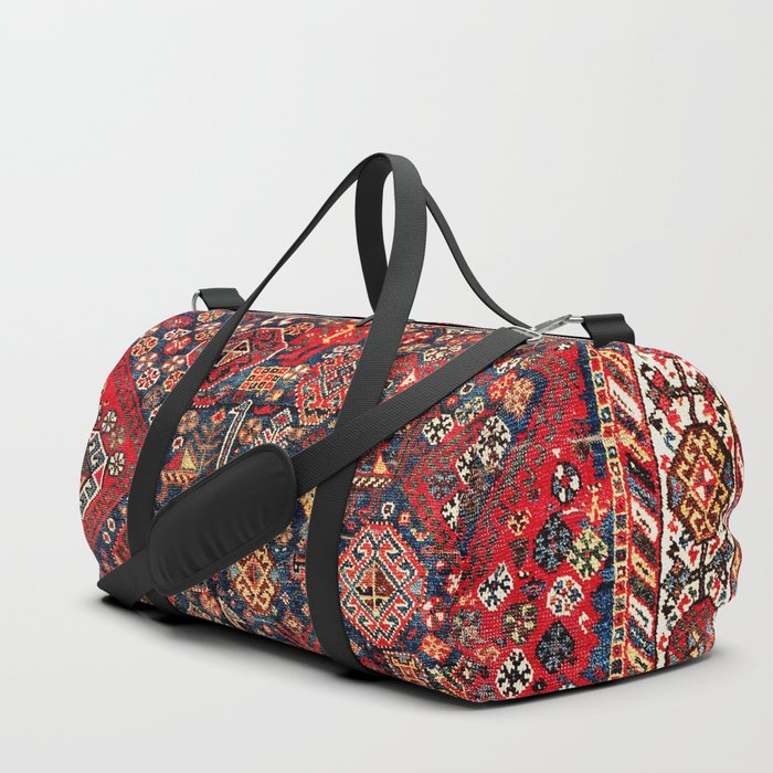 Qashqa'i Fars Southwest Persian Nomad Rug Print Duffle Bag