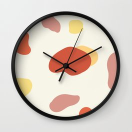 If a Sunset Melted Into Puddles Wall Clock