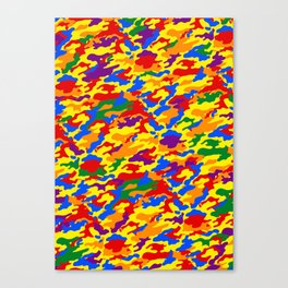 Homouflage Gay Stealth Camouflage Canvas Print