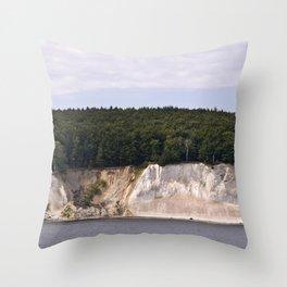 Stonecoast - Jasmund Bay - Isle Ruegen  Throw Pillow