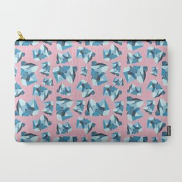Blue Gemstone Carry-All Pouch