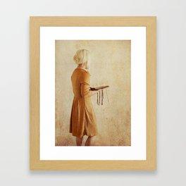 Secret Book 2 Framed Art Print