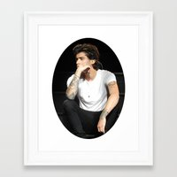 zayn Framed Art Prints featuring Zayn  by clevernessofyou