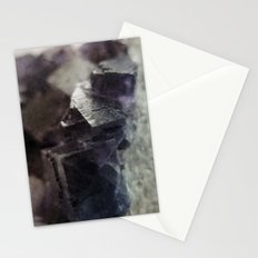 fluorite aura Stationery Cards