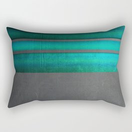 """Architecture, cement texture & colorful II"" Rectangular Pillow"