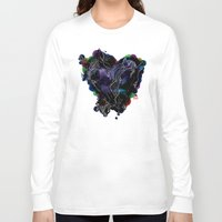 lovers Long Sleeve T-shirts featuring LOVERS by i am gao