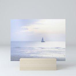 Another sunset on the North Sea... Mini Art Print