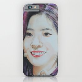 Dahyun Colour Pencil Drawing Art | Xszone iPhone Case