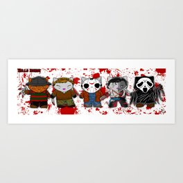 Hello Horror 2103 Art Print