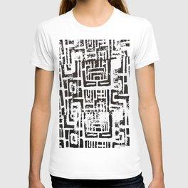Untitled (lino-cut print) T-shirt