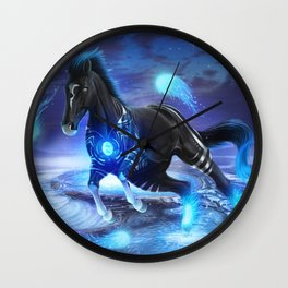 Warrior Inside Wall Clock