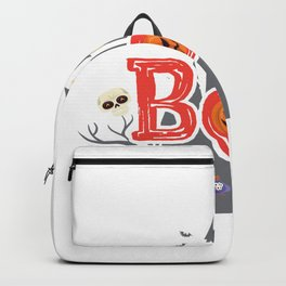 Boo Halloween For Kids - Funny Halloween Costumes Backpack