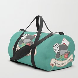 Life is just a Game Duffle Bag