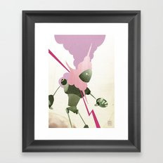 Malfunction Framed Art Print