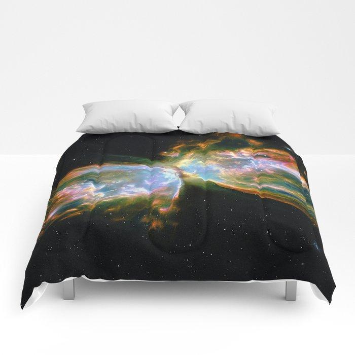 Butterfly Nebula Comforters