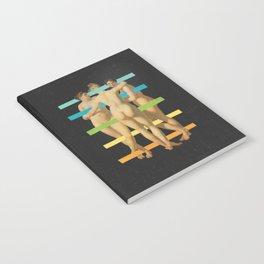 Les Trois Graces Notebook