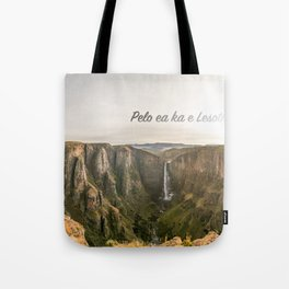The Place of Smoke Tote Bag