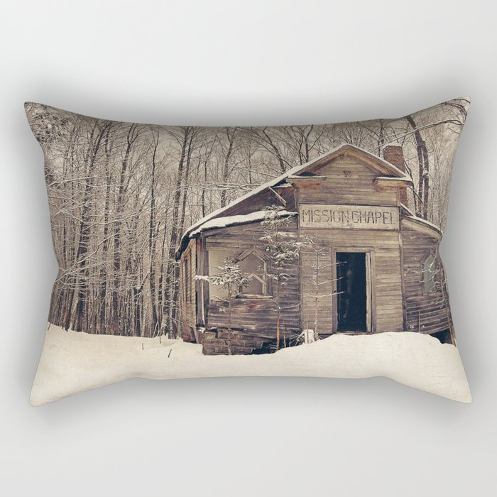 Mission Chapel Rectangular Pillow
