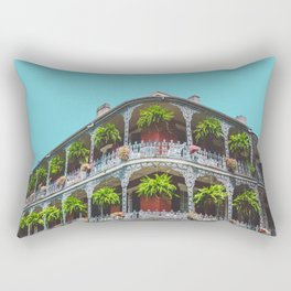 Hanging Baskets of Royal Street, New Orleans Rectangular Pillow