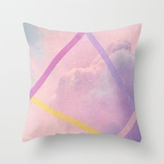 What Do You See III Throw Pillow