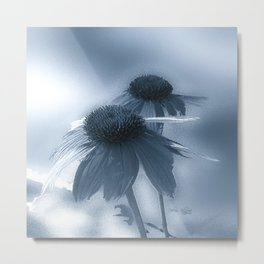 Windflower in Bue Metal Print
