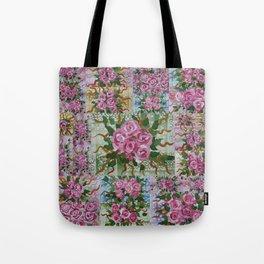 roses in pastels Tote Bag