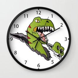 Velociraptor Dinosaur Wall Clock