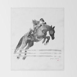 Horse (Jumper) Throw Blanket
