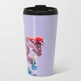 Caterpillar and Alice Travel Mug