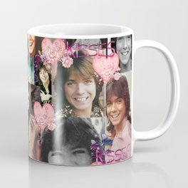David Cassidy - Butterfly Kisses N Hearts Coffee Mug