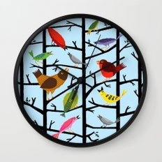 For All The Birds  Wall Clock
