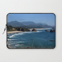 Cannon Beach III, Oregon Laptop Sleeve