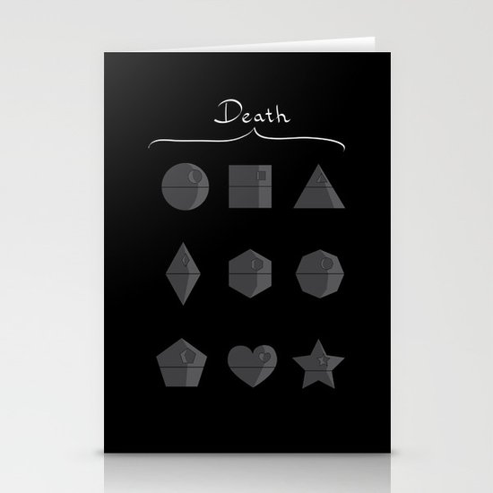 Sith geometry lessons Stationery Cards