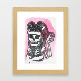 Suavecita Framed Art Print
