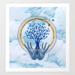 Grateful Presence Art Print