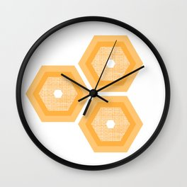 MCM Honey Wall Clock