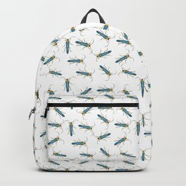 Blue Insect afterlife Backpack