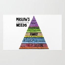 Maslow's Hierarchy of Needs, II Rug