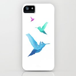 Little bird of happiness iPhone Case