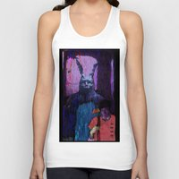 donnie darko Tank Tops featuring Donnie Darko by brett66