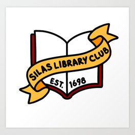 Silas Library Club Art Print
