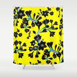 Watsonia Print Shower Curtain