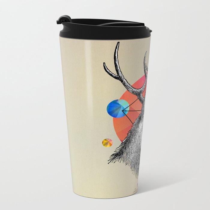 animals Metal Travel Mug