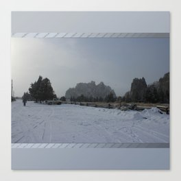 The Blowing Cold Canvas Print