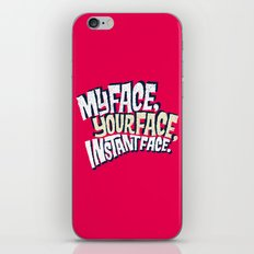 MyFace, YourFace, InstantFace iPhone & iPod Skin