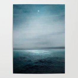 Sea Under Moonlight Poster